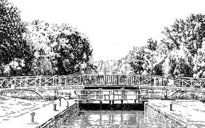 La gazette: «Une poétique du canal de Bourgogne»