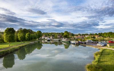 La grande carte sensible de découverte du Canal