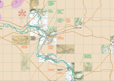 La grande carte sensible de découverte du Tonnerrois